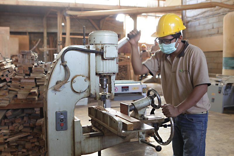Drilling in YMB