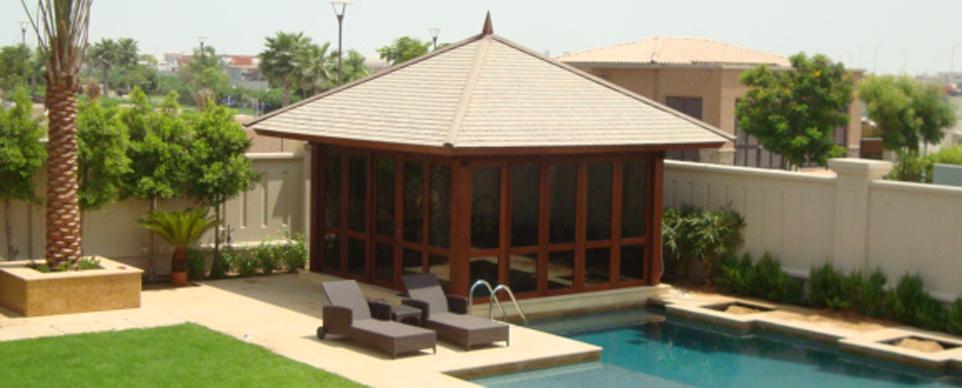 Shingle Roof Gazebo