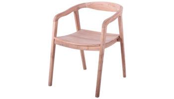Curve teak chair