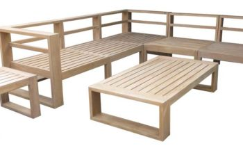 Bedugul Modular Sofa Set - outdoor teak furniture