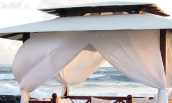 Canvas gazebo bali beach - gazebo