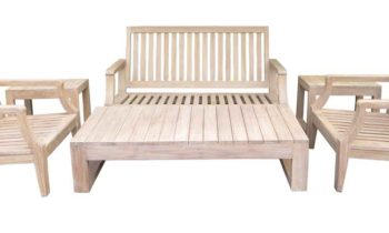 Celebes Sofa Set - outdoor teak furniture