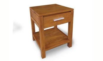 Groove Bedside Cabinet - bedroom side table
