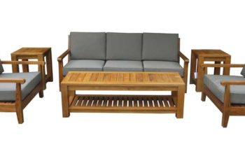 Karimun Sofa Set - outdoor teak furniture