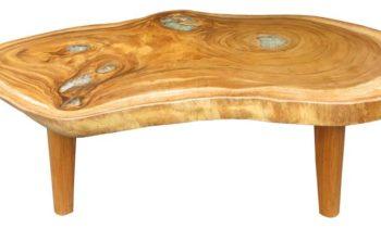 Organic coffee table resin - coffee tables