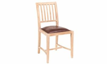 Paola Chair Leather Seat - chairs