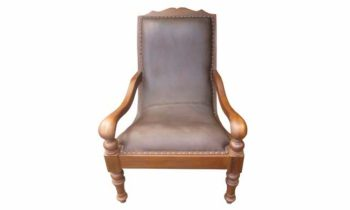 Planter chair leather - chairs