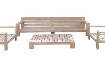 Reeves Sofa Set - outdoor teak furniture