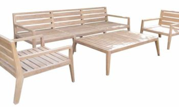 Rinjani Sofa Set - outdoor teak furniture