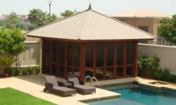 Shingle Roof Gazebo - gazebo