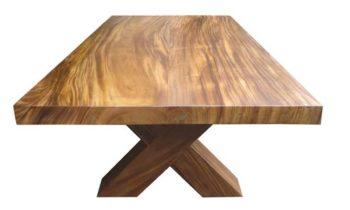 Sydney Suar Dining Table Block Legs - indoor furniture
