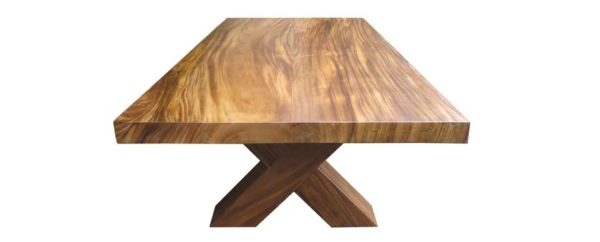 Sydney Suar Dining Table Block Legs -