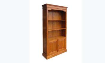 Westwood bookcase 3 Shelves 2 Doors 962x388 1 - bookcase