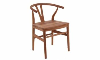Wishbone chair wooden seat - chairs