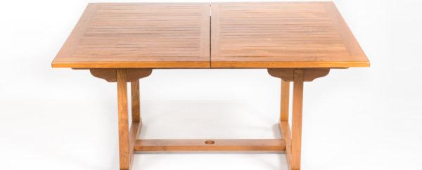 outdoor teak table -