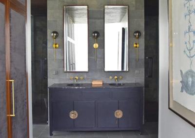 Bathroom Vanity Painted - bali luxury villa
