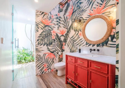 Bathroom Vanity unit - bali luxury villa