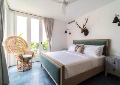 Custom made Bed - bali luxury villa