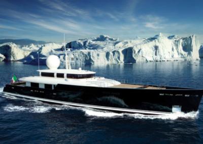 MV Galileo G luxury yacht furniture